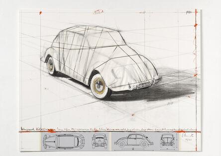 Christo, 'Wrapped Volkswagen (Project for 1961 Volkswagen Beetle Saloon)', 1961/2013