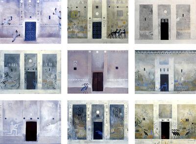 Chant Avedissian, 'Nubian Houses Doors 1980-1989', 2017