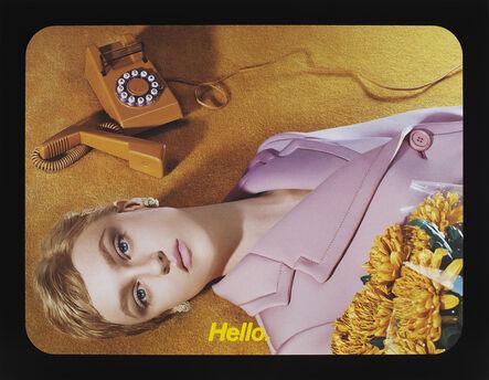 Miles Aldridge, 'Hello ', 2020