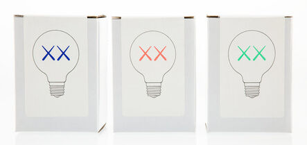 KAWS, 'Limited Edition XX Light Bulbs, set of three', 2011