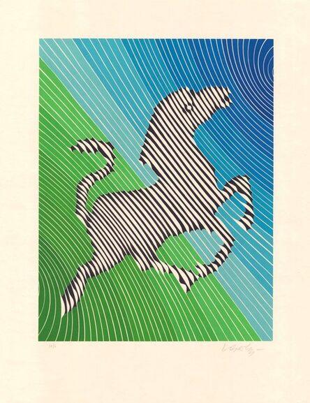 Victor Vasarely, 'Zebra No. 2 (III)', 1980-1990