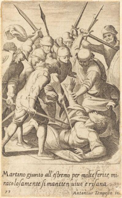Jacques Callot after Antonio Tempesta, 'Martino', 1619