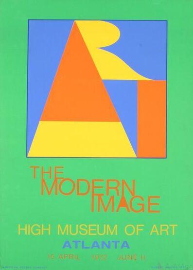 Robert Indiana, 'Atlanta - ART', 1972