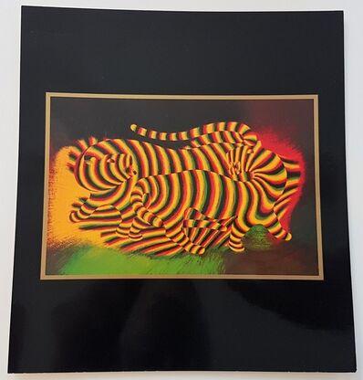 Victor Vasarely, 'Tigres', 1977