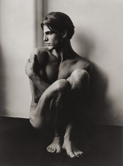 Herb Ritts, 'Stephano Seated, Milan', 1985