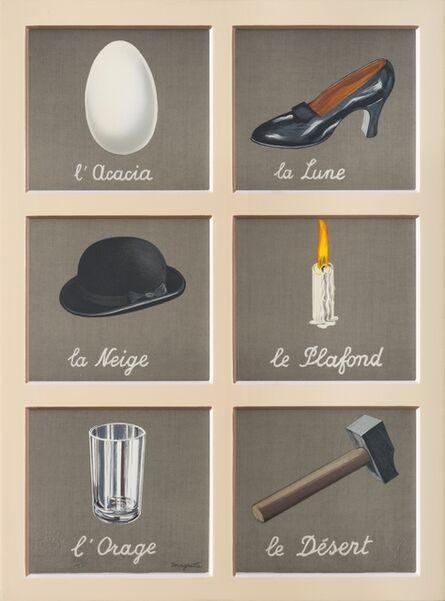 René Magritte, 'La Clé des Songes', 2010