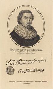 John Thane, 'Sir George Calvert, Lord Baltimore'