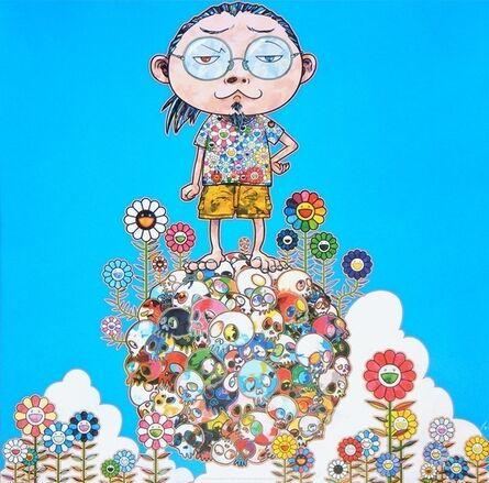 Takashi Murakami, 'Me Among The Supernatural', 2013