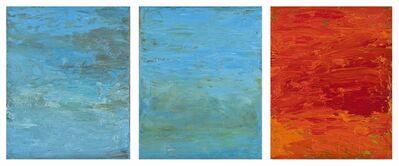 Carole Pierce, 'Elements: Water, Fire-Tripych', 2014-2015