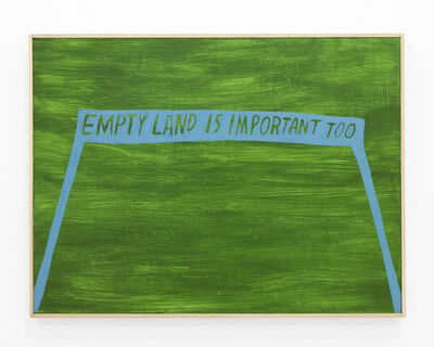 Ryan Whelan, 'Empty land is important too', 2020