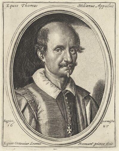 Ottavio Leoni, 'Thomas Stilianus', 1625