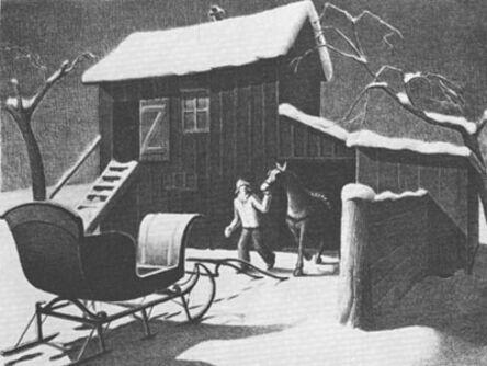 Grant Wood, 'December Afternoon', 1940