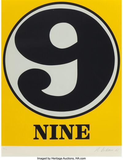 Robert Indiana, 'Nine', 1968