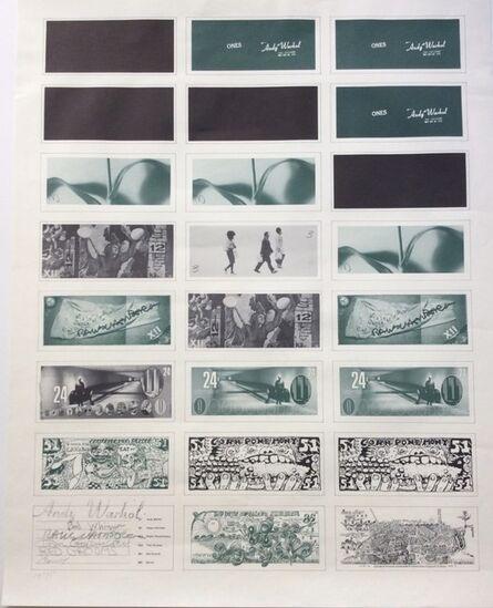 Andy Warhol, 'Art Cash', 1971