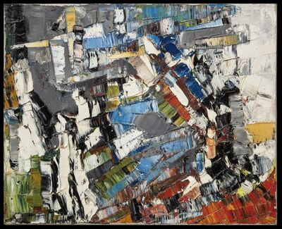 Jean-Paul Riopelle, 'Composition Abstraite', ca. 1956