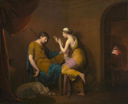 Joseph Wright, 'The Corinthian Maid', 1782-1784