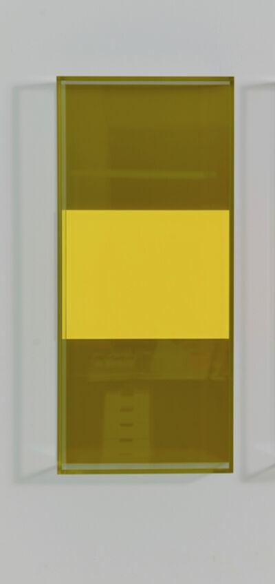 Regine Schumann, 'colormirror triple miami gold orange', 2019