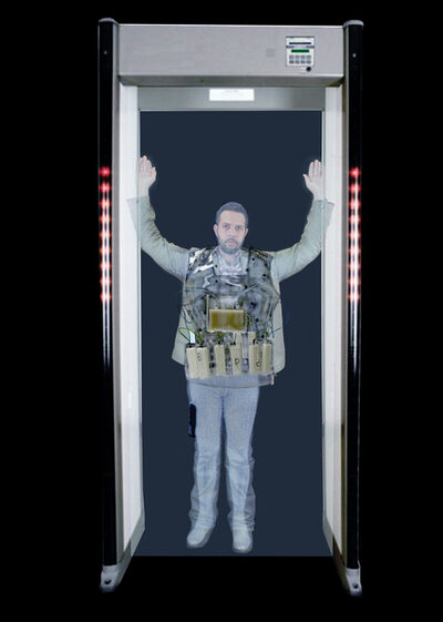 Cai Guo-Qiang 蔡国强, 'Full Body Scan: Next!', 2013