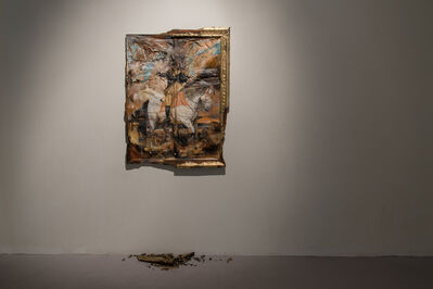 Valerie Hegarty, 'Ghost of History', 2016