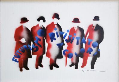 Mario Schifano, 'Futurismo rivisitato a colori (Futurism revisited in color)', Second half of 1970's