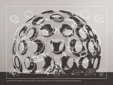 R. Buckminster Fuller, 'Geodesic Structures - Monohex', 1981