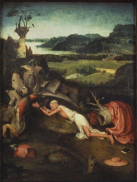 Hieronymus Bosch, 'Saint Jerome at Prayer', 1490-1500