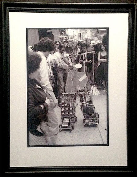 Paul Garrin, 'Nam June Paik & Robot K456 No.1, Madison Ave', 1982