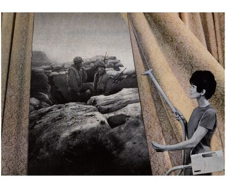 Martha Rosler, 'Cleaning the Drapes', 1967-1972