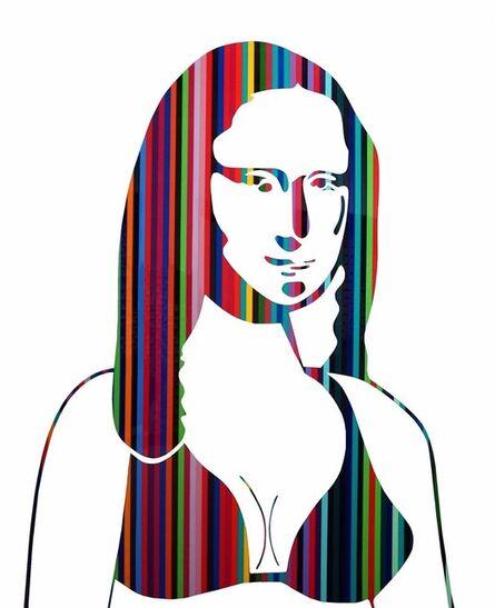Neno Ramos, 'Mona Lisa Rainbow', 2018