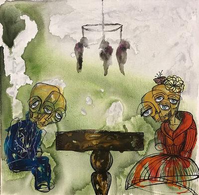 Meshail Faisal, 'Quarrel / خصام', 2017