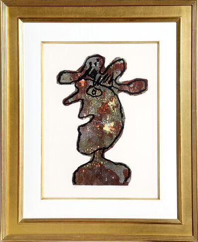 Jean Dubuffet, 'l'Hommage au Chapeau', 1961