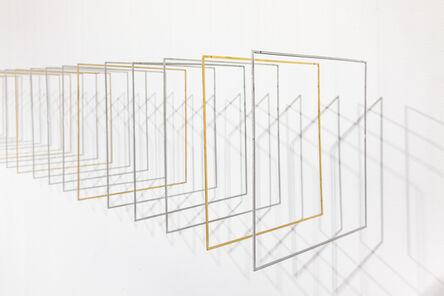 Elias Crespin, 'Tetralineados Alu Brass 154', 2017