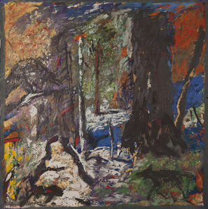 Gaylen Hansen, 'Black Dog Entering Woods', 2019