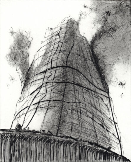 Wayne Thiebaud, 'Mountain Smoke', 2011