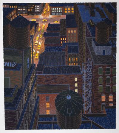 Yvonne Jacquette, 'Chelsea', 1996