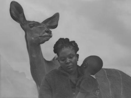 Nick Brandt, 'Moraa and Son and Frida, Kenya', 2020