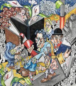 Adnan Charara, 'The Pleasures of Reading', 1999