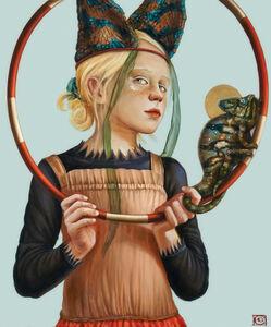 Claudia Giraudo, 'GOLDEN AGE, The Chameleon spirit', 2020