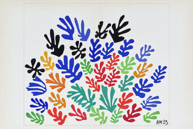 Henri Matisse, 'La Gerbe (Spray of Flowers)', 1953