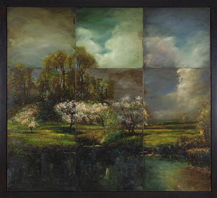 David Bierk, 'A Distant Light, from John Appleton Brown, Trees in Blossom #2', 1993