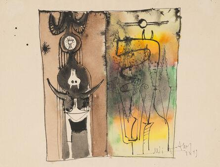 Wifredo Lam, 'UNTITLED', 1949