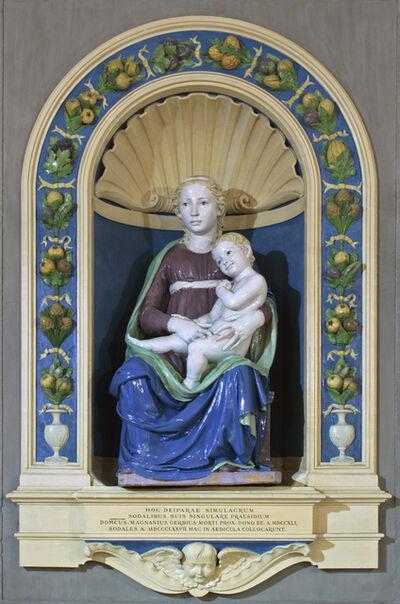 Luca della Robbia, 'Madonna and Child (in situ)', c. 1450-1460