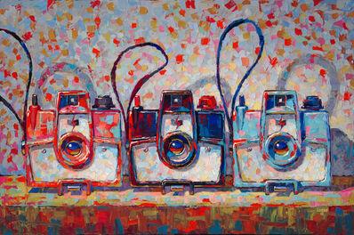 Raymond Logan, 'Three Mark VII Cameras', 2017