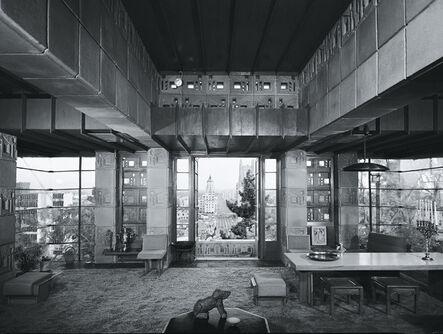 Julius Shulman, 'Frank Lloyd Wright, Freeman House, Los Angeles, California', 1999