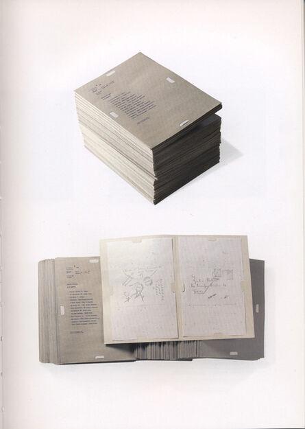Alighiero Boetti, 'Dossier Postale', 1969-1970