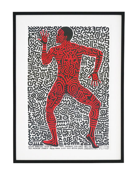Keith Haring, 'Into 84', ca. 1980s