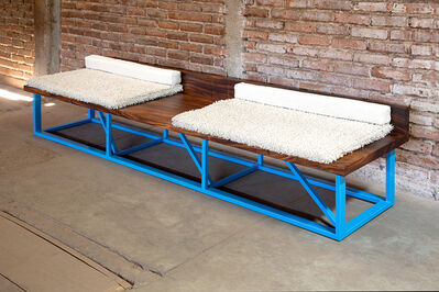 Andy Coolquitt, 'bench', 2015