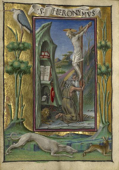 Taddeo Crivelli, 'Saint Jerome in the Desert', 1469
