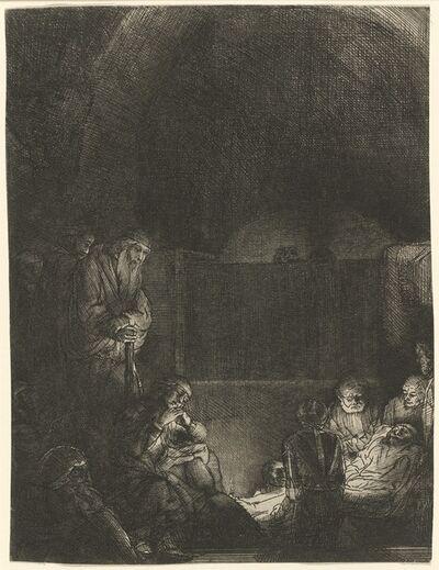 Rembrandt van Rijn, 'The Entombment', ca. 1654
