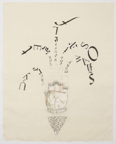 Lesley Dill, 'Fingertip Scroll', 2013